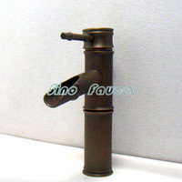Wholesale Luxury Bamboo Bathroom Basin Faucet Mixer Tap B021