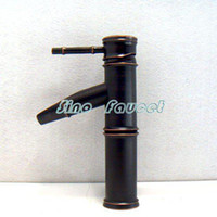 Wholesale Bamboo Oil Rubbed Bronze Basin Faucet K