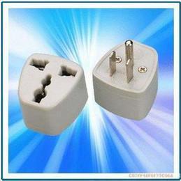 100pcs for Universal Travel Power Plug to USA AC Plug adapter ( 3-pin ) electrical plug !