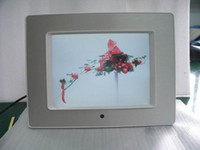 Wholesale 8 quot TFT Screen Digital photo frame paly picture Support JPG JPEG format with MP3