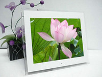 Wholesale 14 inch HD Digital photo frame Multi funtion mp3 AV out