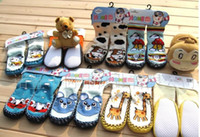 0-6Mos baby home shoes - baby home socks Sock footgear stocking shoes boot leather bottom
