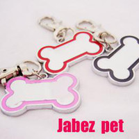 Wholesale Bone Style Dog Tags pet id card