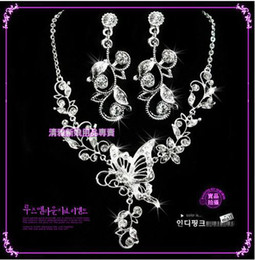 Wholesale Special Bridal wedding dress accessories set chain necklace TL1329
