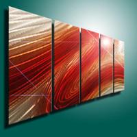 Cheap aluminum wall art Best H24.5