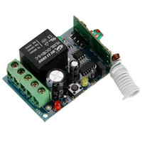 Wholesale 315 MHz DC V Single Channel Learning Code Wireless Remote Control Relay Module pc E_Shop2008