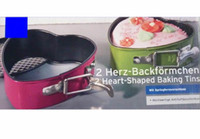 Wholesale Cake Pans Baking Pans Two Heart Shape Tins