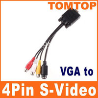 c614 av cables brand - Brand New PC VGA to S Video AV RCA TV Out Converter Adapter Cable C614