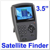 Wholesale 3 quot TFT Color LCD Handheld Digital Satellite Finder Signal Meter TV DVB S