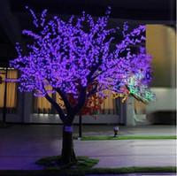 Wholesale DCreative LED tree light Chritsmas cherry tree light LED blubs Tree Light Party Garden Decor Light