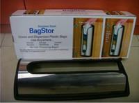 Wholesale 1pcs bag store bagstor bag stor plastic grocery bags organizer stainless steel bagstor bag store