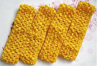 Wholesale 60pcs Crochet band baby boy amp girl INCN Crochet Headband soft Multi Colored