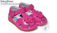 Wholesale 100 Brand Genuine leather Infant Toddler Voice Sandals Handtailor Colors20pairs No PB SIHP