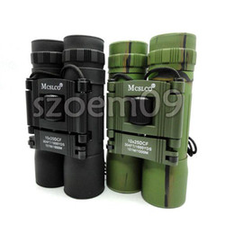10X25 Army Military Outdoor Telescope Binoculars Black