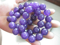 Wholesale NATURE LAVENDER JADE JADEITE MM BEADS BRACELET