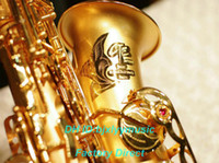 Wholesale Senior Professional Beauty CTE Placer gold Alto Saxophone High Quality