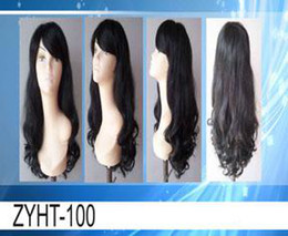 Wholesale brazilian human hair front lace wig natural wave B ZYHT