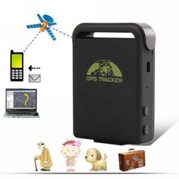 Wholesale REAL TIME GPS GPRS GSM TRACKER,TK102, PERSONAL TRACKER, SMALLEST GPS TRACKER Free Shipping