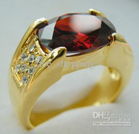 14k gold rings - womens ring ct clear ruby red gemstone ring solid k yellow gold rings girls exquisite rings