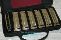 Wholesale Best Selling hole tone tune set packing harmonica gift bag