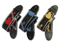 Wholesale 2 guitar straps Guitar Strap Red blue yellow