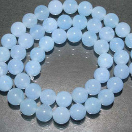 Wholesale BEAUTIFUL mm Brazilian Aquamarine Gemstone Round Loose Bead quot