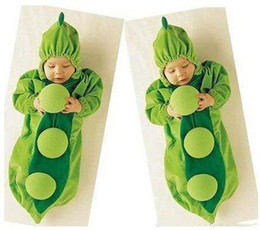 Wholesale 30pcs Green Color Pea pod Baby Sleeping Bag Children s Sleeping Bags Bedding Baby Cute Clothing