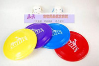 Wholesale 10pcs Dogobie Dog Flying Disc Chew Toy CM Frisbee Pet Natural Rubber by Aerobie