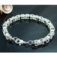 South American 925 sterling silver bracelet - Christmas hot sell Sterling Silver women lady fashion jewelry new chain bracelet H073