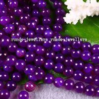 alexandrite charms - charming mm Purple Alexandrite Gems Round Loose Beads AAA