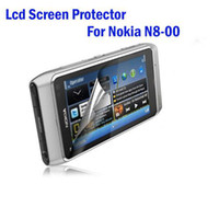 Wholesale Free ship Screen Protector For Nokia N8 N8 LCD screen protector with retail pack