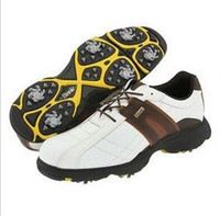 Wholesale Big yards on sale in one hundred men leather shoes golf brand