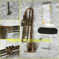 Wholesale XG Golden High Advanced Phosphor Bronze Brass Trumpet freecase