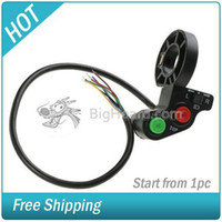 Wholesale Electric Bike Scooter Light Turn Signal amp Horn Switch for quot handlebars