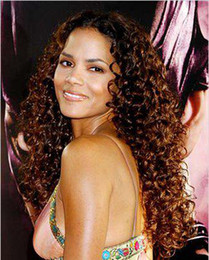 Wholesale 100 Indian Remy human hair Front lace wig