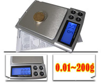 Digital scale   0.01 - 200g GRAM MINI POCKET DIGITAL BALANCE SCALE New 50pcs lot