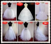 Wholesale Wedding Crinoline Petticoat Underskirt Ball Gown Mermaid A Line Wedding Accessories