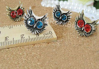 Wholesale Fashion Earbob Earring new style of the Euro American vogue personality owl ear nail body jewel