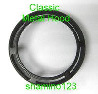 Wholesale 43mm Classic Outlook Metal Lens Hood Screw in Type