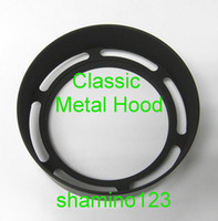 Wholesale 40 mm Classic Outlook Metal Lens Hood Screw in Type