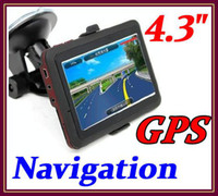 Wholesale CHpost Cheapest inch car gps FM transmitter free map GB RW GN02
