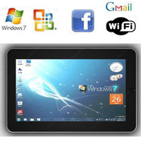 Wholesale thin flat inch capacitive multi point touch winpad Tablet pc Windows XP G GB laptop