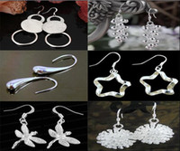 Wholesale New Arrival silver High Quality ladies Fashion Silver Charm Earrings