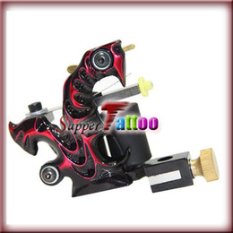 Fire Red Shader Liner Tattoo Machine Gun Supply