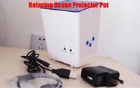 Расслабляющая океана проектор Пот Спальня Гостиная Ocean Light, чтобы сделать вас Relax 5pcs / серия