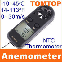 H4326   Multi-function 2 in 1 Digital Beaufort Wind Scale Anemometer+Thermometer H4326