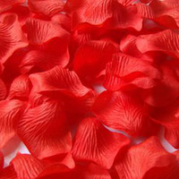 Wholesale Sahua hand thro Simulation of red rose petals wedding decoration items identified bed SIZE cm