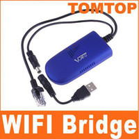 Wholesale IEEE B G Wireless WIFI Dongle Bridge Ghz DC5V V W For game Xbox PS3 C975