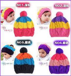 Wholesale Hot Cotton Crochet Baby cap Baby Knitted Cap Baby girl Beanie baby bernat linecap baby cap baby Hat