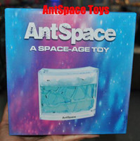 Wholesale Christmasl Ant Homeland Gifts Novelty Ant Workshop A SPACE AGE TOY Ant Farm AntSpance Toys